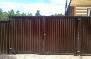 купить откатные ворота, распашные ворота, калитки в москве по низкой цене