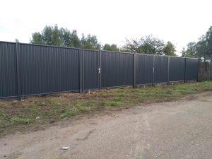 забор профнастил цена в Москве