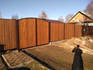 купить деревянный забор в Москве цена снижена