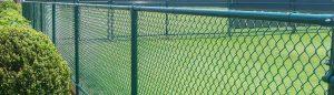 установка заборов из сетки рабицы в москве